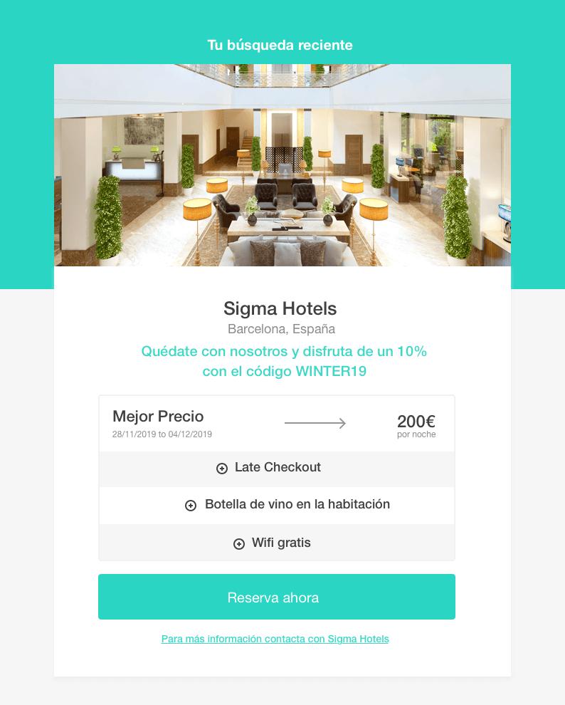 last search widget - The Hotels Network