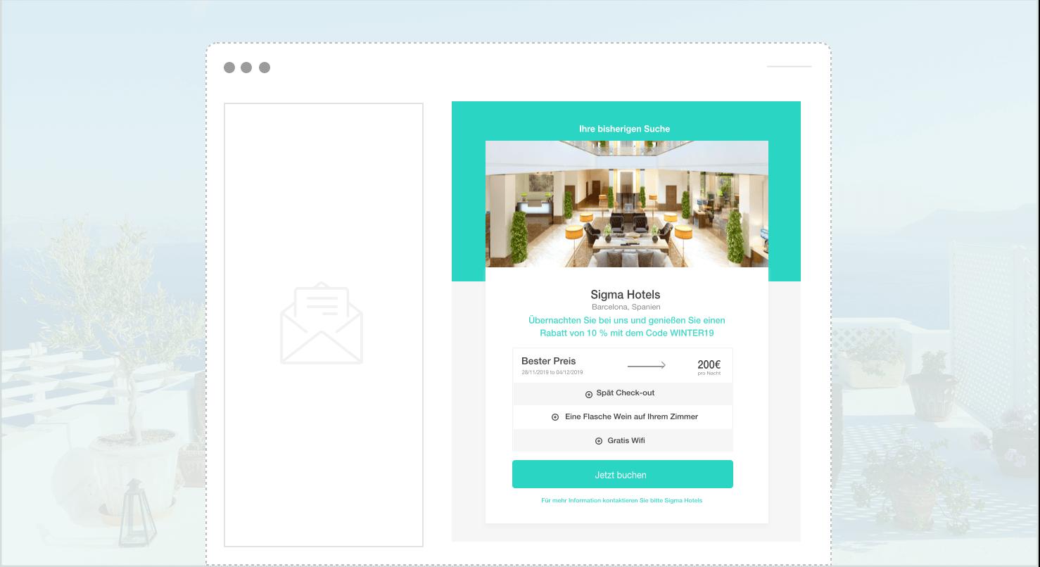 bisherigen suche widget - The Hotels Network